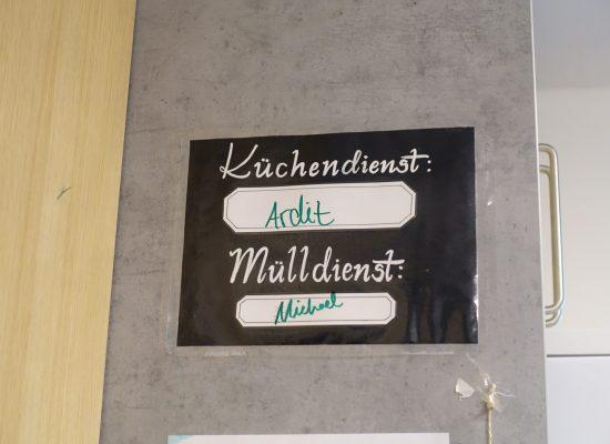 Küchendienst_Karlsruhe_Wohnheim