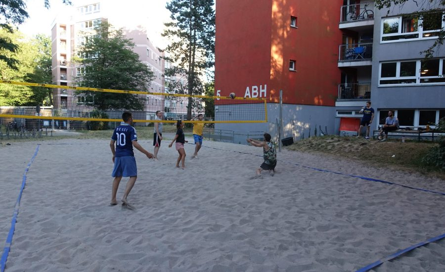 Volleyball_Karlsruhe_Wohnheim