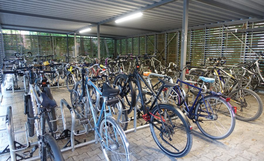 Wohnheime_Karlsruhe_Fahrradschuppen